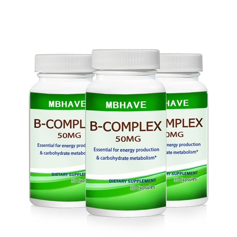 3 бутылки витамина В, набор высокопрочных витамин 9 В, Biotin & B12 B, 2019