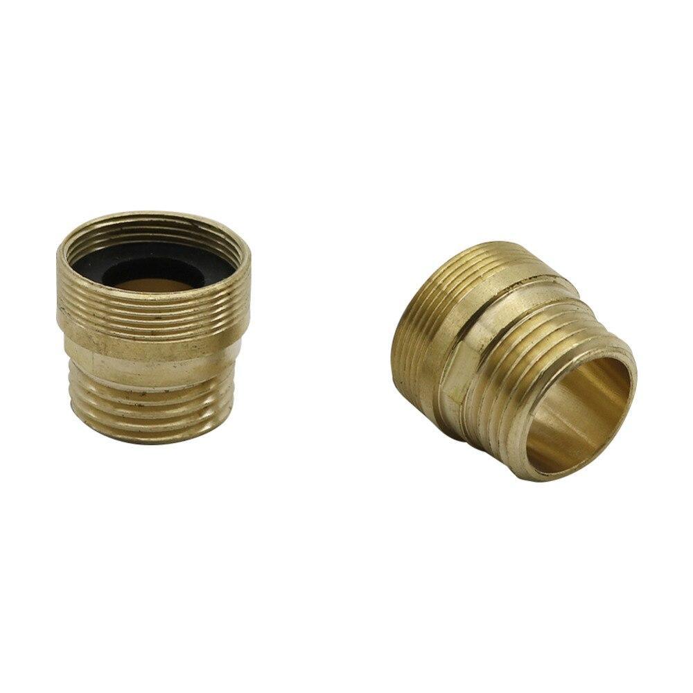 Grifo de ducha adaptador Grifo para jardín cambio M22 rosca interior/M24 rosca exterior conector de agua purificador de agua de 20 Pcs