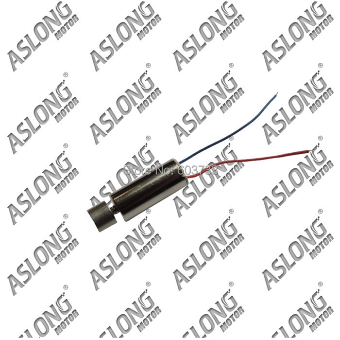 20pcs Aslong 0.9-1.6v coreless vibration motor,mobile,massager motor,electric motor free shipping