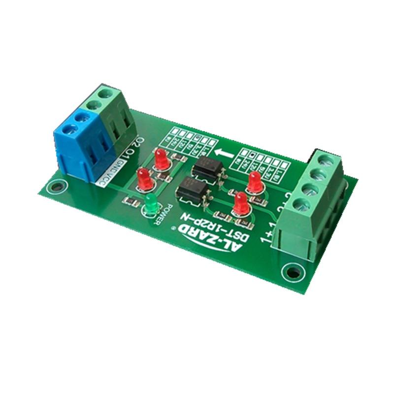 12 В до 5 В/12 В до 24 В/24 В до 3,3 В/24 В до 5 В 2 канальная оптопара изоляционная плата PLC модуль преобразования уровня напряжения сигнала