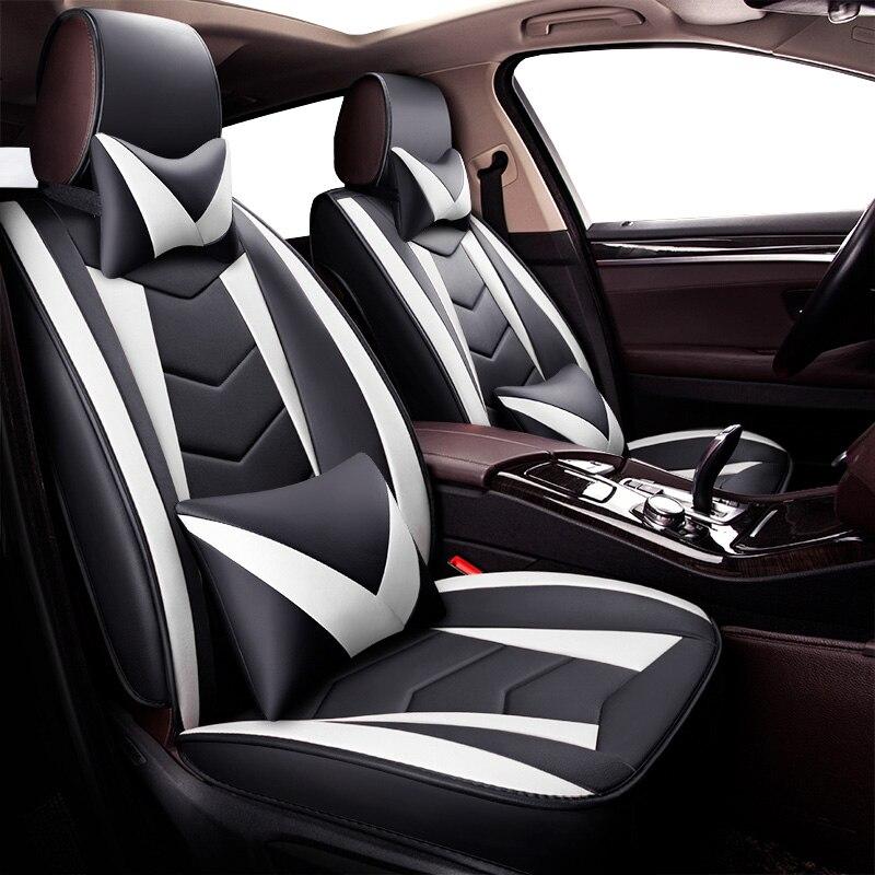 Nuevo Universal asiento de cuero pu fundas para Suzuki grand vitara Cultus Swift deporte Celerio Authentics Baleno Ik-2 SX4 S-CROSS