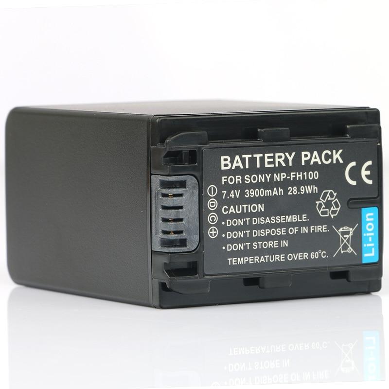 LANFULANG NP-FH100 NP FH100 Replacement Li-ion Battery For Sony DCR-SR72 DCR-SR65 DCR-SR52 DCR-SX40 DCR-SX31 DCR-SX41 DCR-SX30