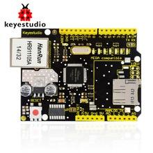 NOUVEAU! Bouclier Ethernet Keyestudio W5100 pour arduino UNO R3 + Mega 2560