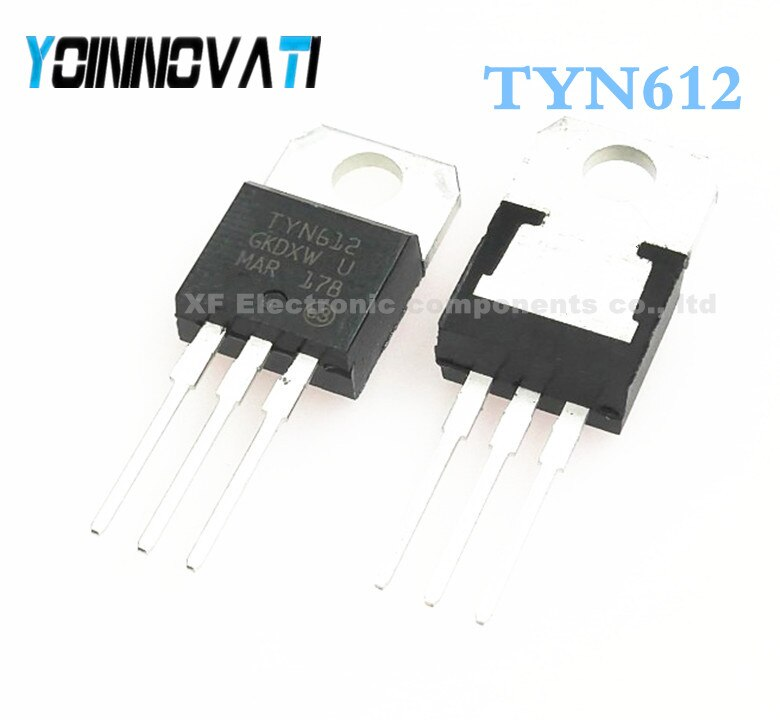 100 unids/lote TYN612 TO-220 mejor calidad IC