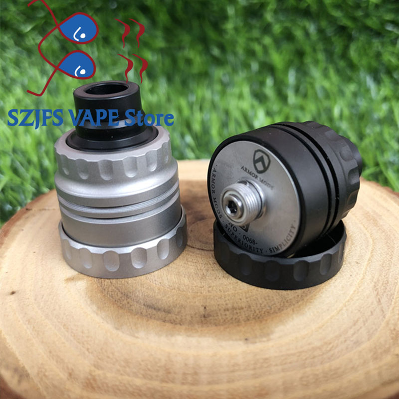 Armor S Styled RDA Rebuildable Dripping Atomizer with bf pin 22mm  316 ss 510 thred Top oiling diy edc Atty vs sxk GOON rda enlarge