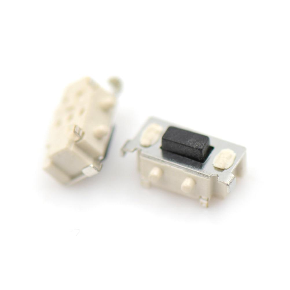 20 pièces Micro Tact commutateur Tactile 3x6x3.5mm tablette PC bouton Bluetooth casque télécommande commutateur latéral interrupteurs tactiles momentanés
