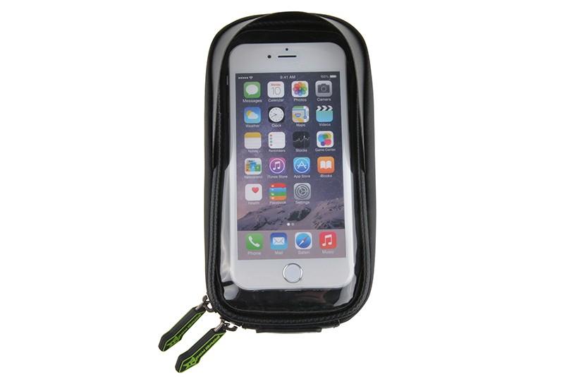 Rockbros mtb rama roweru przodu torba głowy górna rura podwójna IPouch Dotykowy Kolarstwo Pannier Dla 5.8/6 cal Smartfon Dotykowy ekran 24