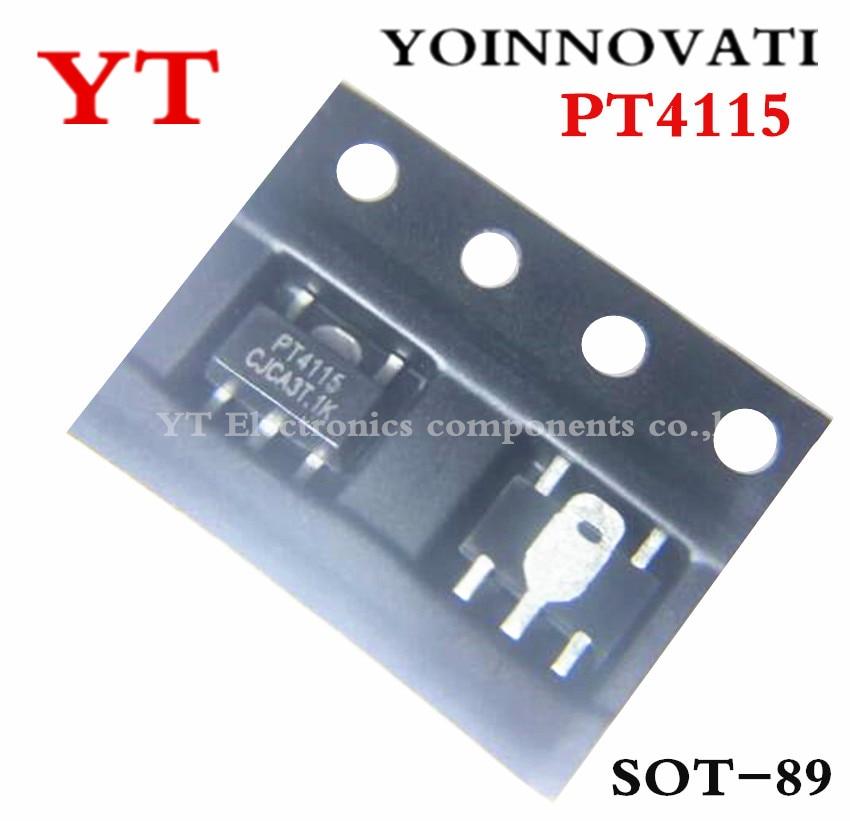 100 قطعة/الوحدة PT4115 PT4115B89E PT4115B 4115B89E 4115 رقائق الصمام LED محرك IC