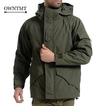 Tactical G8 Jacket Men Winter Camouflage thermal thick parka Coat Military Hooded 2in1 Jacket Waterproof Windbreaker outwear