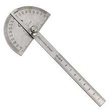 Rapporteur Angle Finder artisan règle règle acier inoxydable tête ronde mesure Angle bras règle outil général
