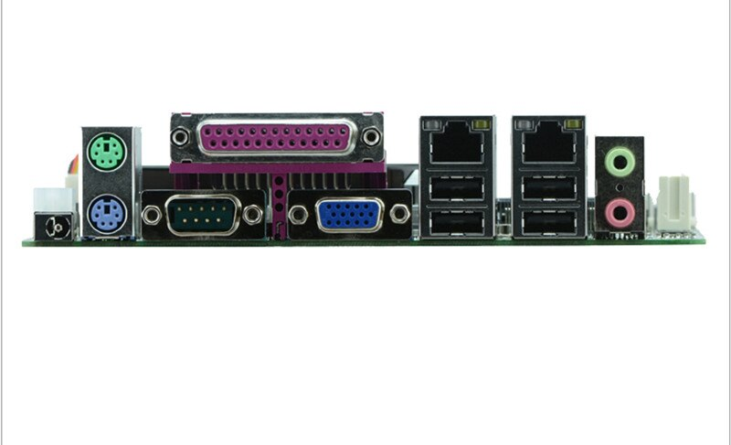 Podwójny procesor, Atom D2550 17*17 Mini płyta główna, Intel NM10 Express chipset, DC 12 V