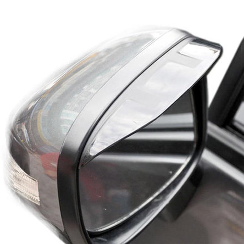 For Mazda CX-5 CX5 2012 2013 2014 2015 ABS Plastic Rain Shade Awnings Side Door Mirror Sun Visor Protector Car Styling 2Pcs/set