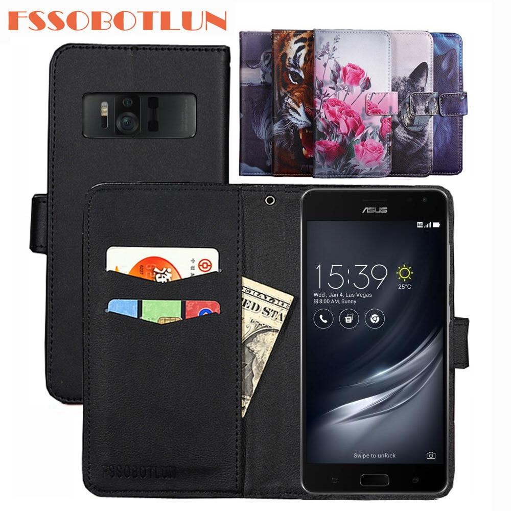 FSSOBOTLUN para ASUS ZenFone AR ZS571KL caso de cuero de la PU...