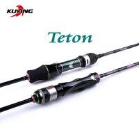 KUYING Teton 5'10 1.75m 6' 1.8m Spinning Casting Stream Soft Fishing Lure Rod Pole Stick Cane Rods Carbon FUJI Light Fast Speed