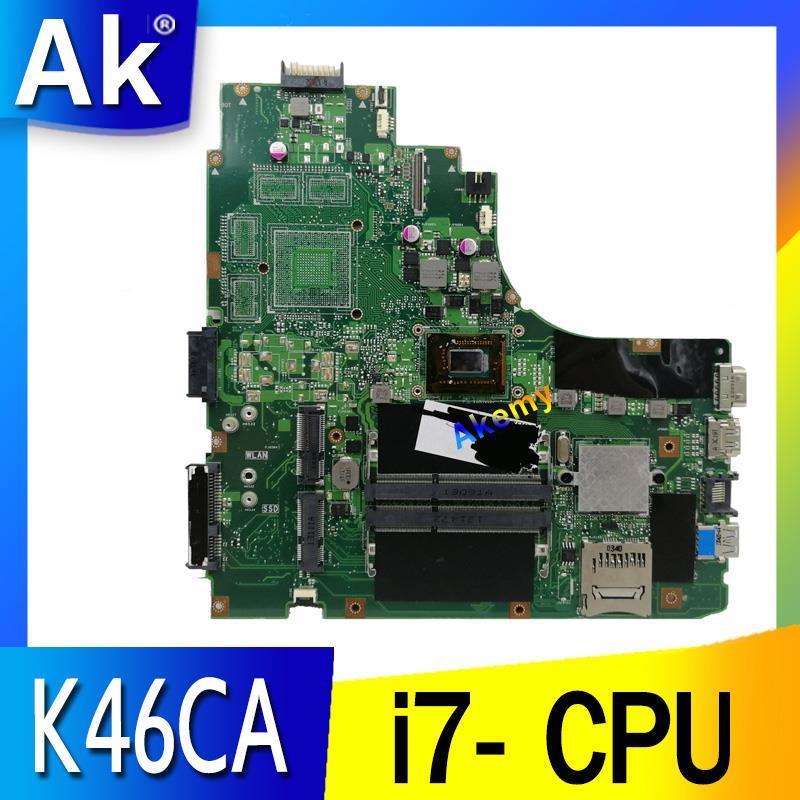 K46CA لوحة الأم CPU I7 ل For Asus k46CB k46CM S46C A46C اللوحة المحمول K46CA اللوحة الرئيسية K46CA اللوحة الأم اختبار 100% OK