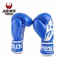 pair pu leather mma gloves fighting boxing gloves sparring training gloves muay thai kick boxing gloves