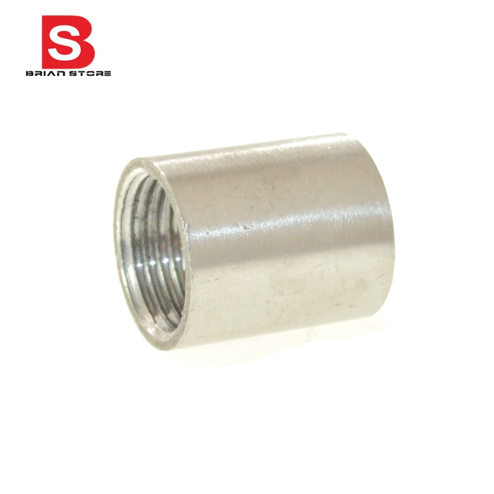 Conexión de tubería de unión de pezón recto hembra BSP 304 conectores de acero inoxidable