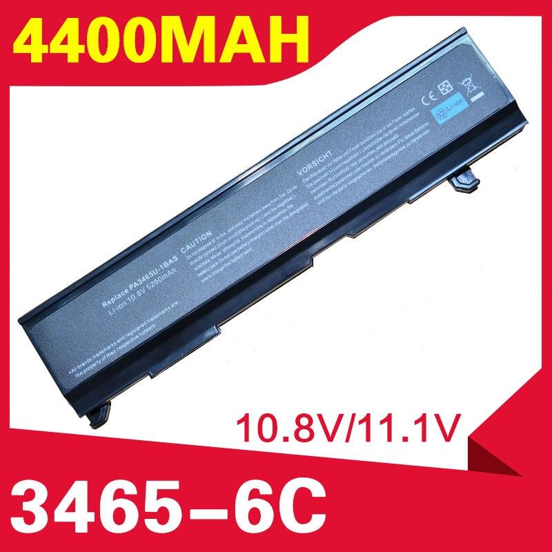ApexWay 4400mAh batería del ordenador portátil para Toshiba PA3451U-1BRS PA3457U-1BRS PABAS067 satélite Pro A100-532 M70 M70-134 A105 A85