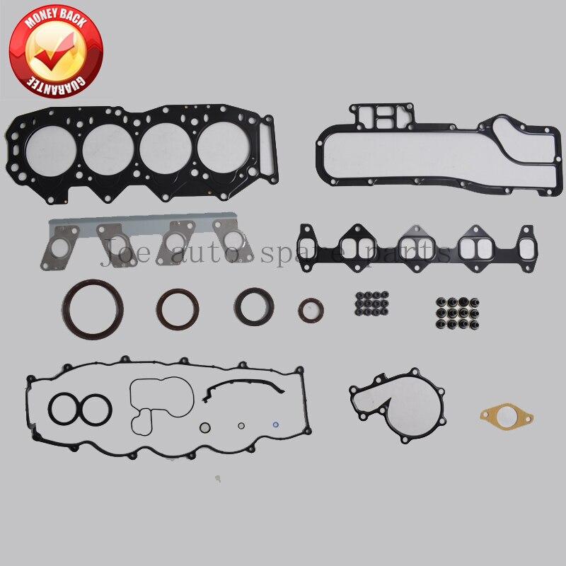 WL WLT Engine complete Full Gasket Set kit for Ford Endeavour/Ranger Mazda B2500 2.5D 2.5TD 2499CC 1999-  8ASX-10-271 50163000