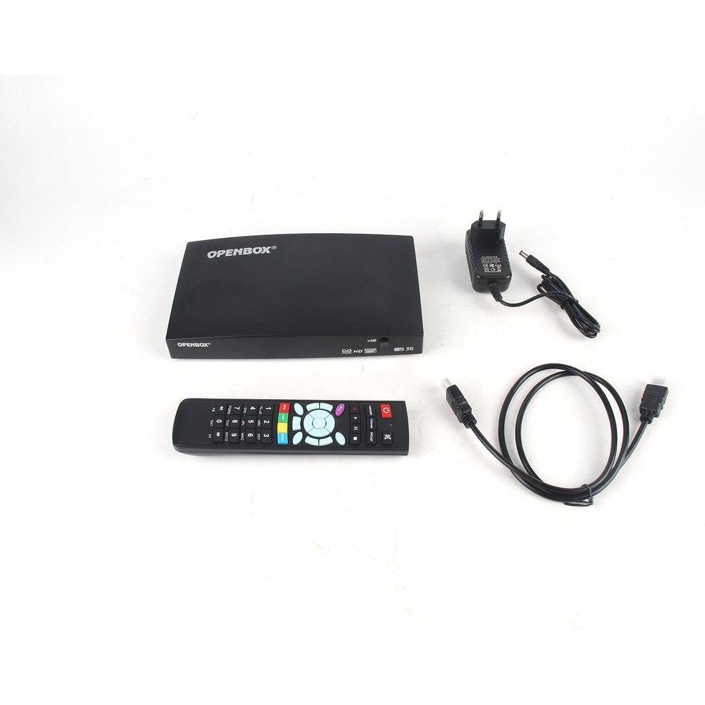 Receptor Digital vía satélite Openbox V8s Original Cable Hd Smart TV BOX inteligente Digital Receptor DE TV pantalla LED reproductor de medios
