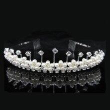Wedding Bridal Crown Luxury Rhinestone Full Circle Queen Crown and Tiara For Women Hair Ornaments Accessories