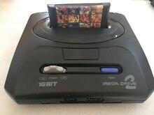 Console de jeu vidéo SEGA MD 2 16 bits pour cartouche de jeu SEGA originale avec jeux classiques 138 en 1