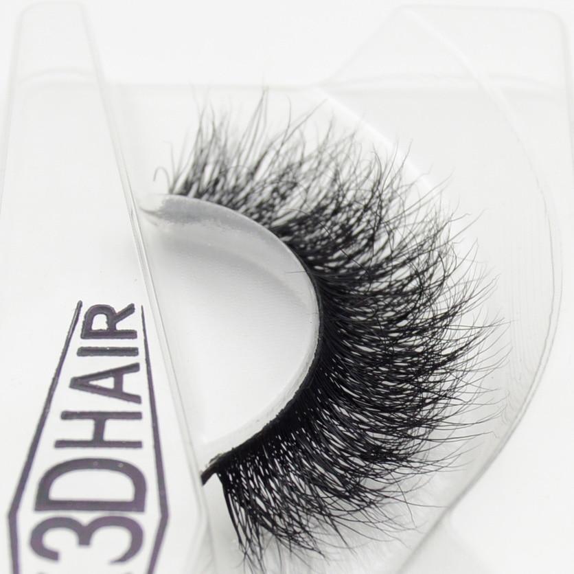 Visofree 3D Mink Eyelashes Upper Lashes 100% Real Mink Strip Eyelashes Handmade Crossing Mink Eye Lashes Extension A09