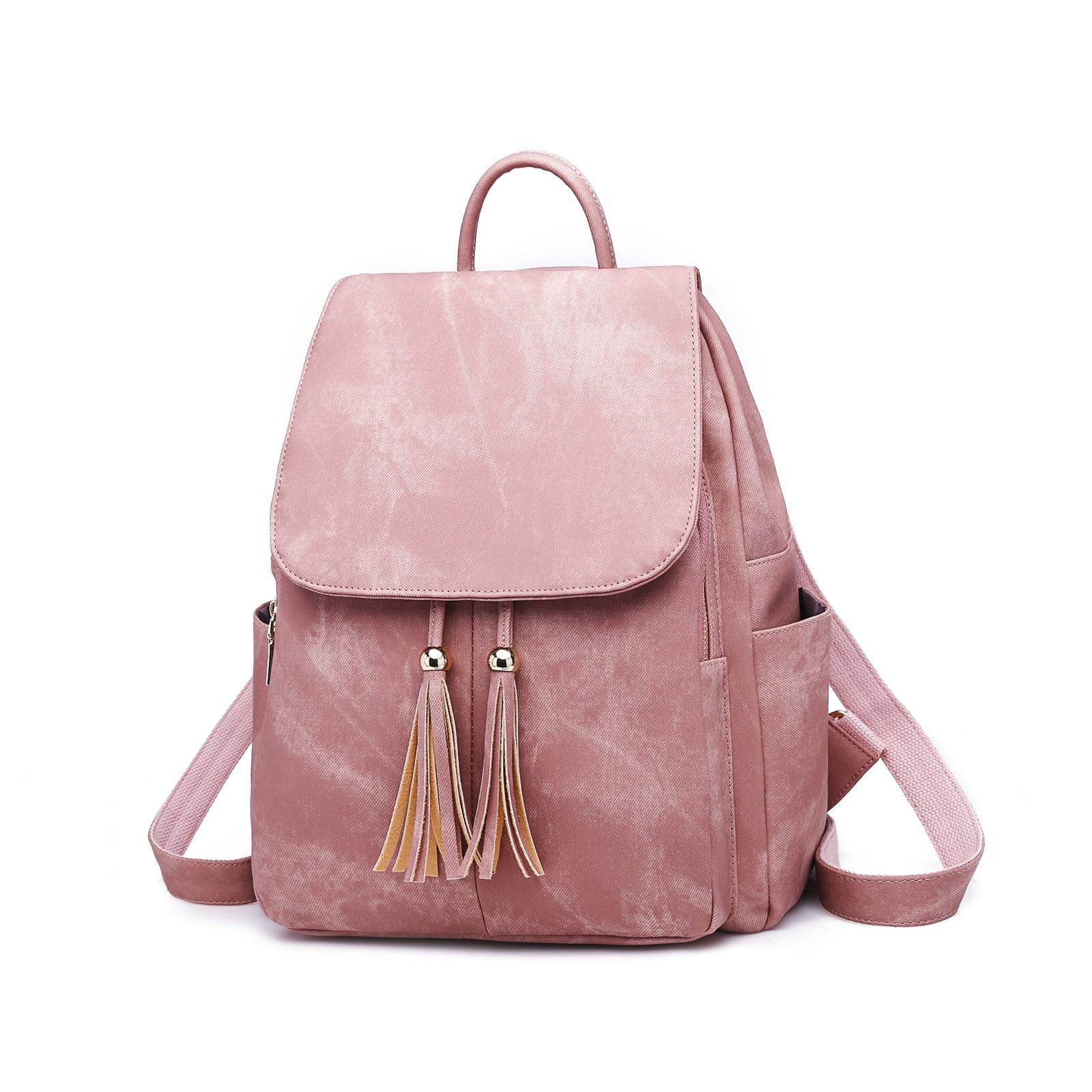 Mochila De cuero auténtico para mujer, mochila de gran capacidad, 2019 mochilas para mujeres, mochila para adolescentes C1023