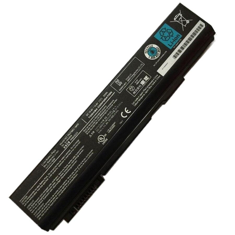 10.8 v 55wh original bateria do portátil para toshiba PA3788U-1BRS pabas223 satélite pro s500 tecra a11 m11 s11 S11-173 frete grátis