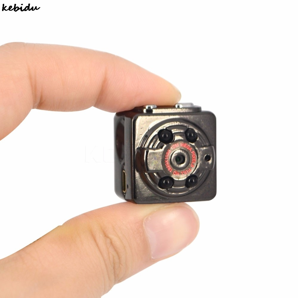 Kebidu Universal HD Mini Micro videocámara Cámara Webcam 1080p cámara Web portátil de mano DV DC corbata bolsillo de Audio y Video
