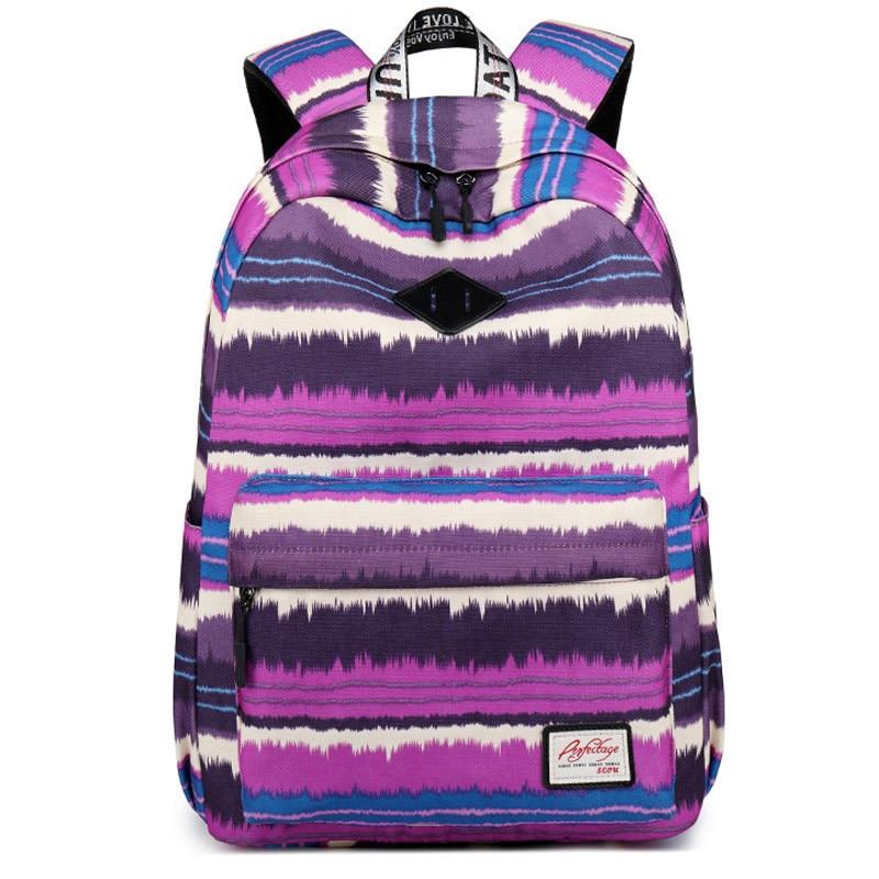 feminine backpack striped women canvas backpack teenage backpacks for teen girls teenagers bagpack youth female mochila feminina Backpacks Women School Backpack for Teenage Girls Female Mochila Feminina Waterproof Bagpack Travel Bags Casual Sac A Dos