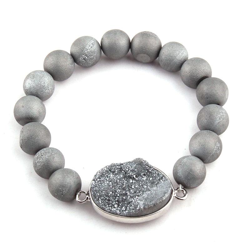 Браслет из натурального камня, 10 мм, бесплатная доставка