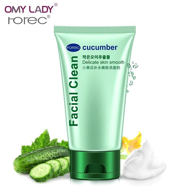 OMY LADY HANCHAN pepino hidratante limpieza facial limpiador profundo y cuidado de la piel natural espuma de limpieza refrescar cuidado de la piel limpieza facial