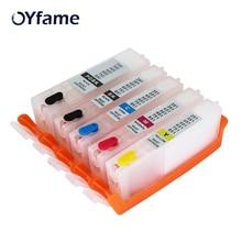 OYfame PGI450 CLI451 tinte Patronen Mit ARC Chip Für Canon IP7240 MG5440 MG5440 MG5540 MG6440 MG6640 Drucker Patrone