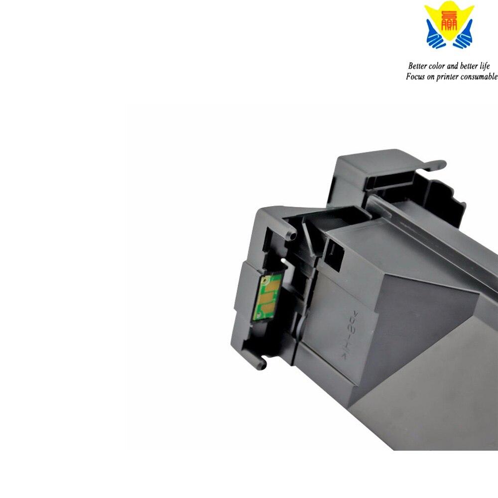 JIANYINGCHEN خرطوشة حبر ملونة متوافقة ل Konicas مينولتاس C7400 C7440 C7450 C7450II (4 قطعة/الوحدة)