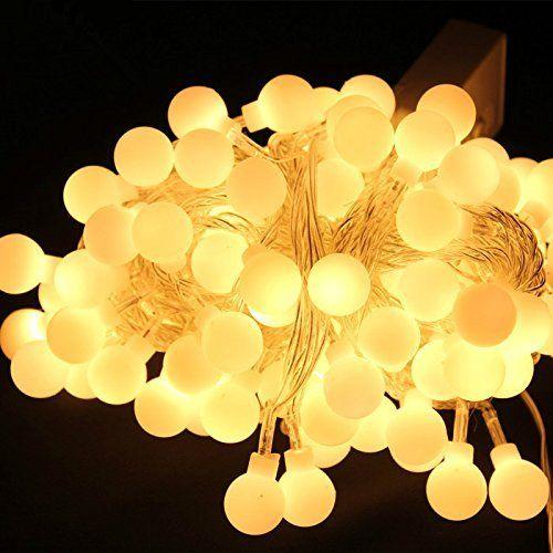 20M 200 LED Bola de hadas cadena luces guirnaldas para árbol de Navidad vacaciones boda jardín decoración al aire libre 110 V-240 V