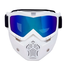 New Men Women Ski Goggles Snowboard Snowmobile Eyewear Detachable Mask Snow Winter Skiing Glasses Motocross Sunglasses