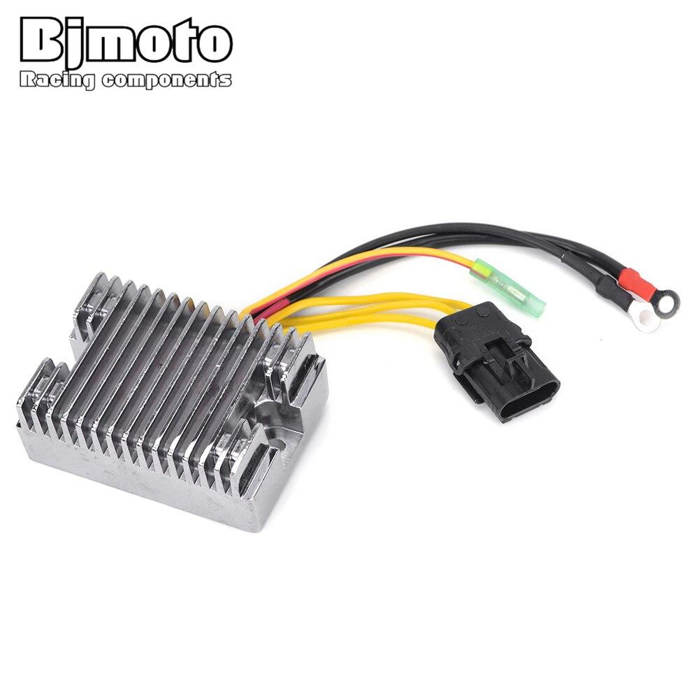 BJMOTO Metal Voltage Regulator Rectifier for Polaris Hawkeye 300 2006-2011 Sportsman 300 2008-2010 Sportsman 400 HO F/C Carb