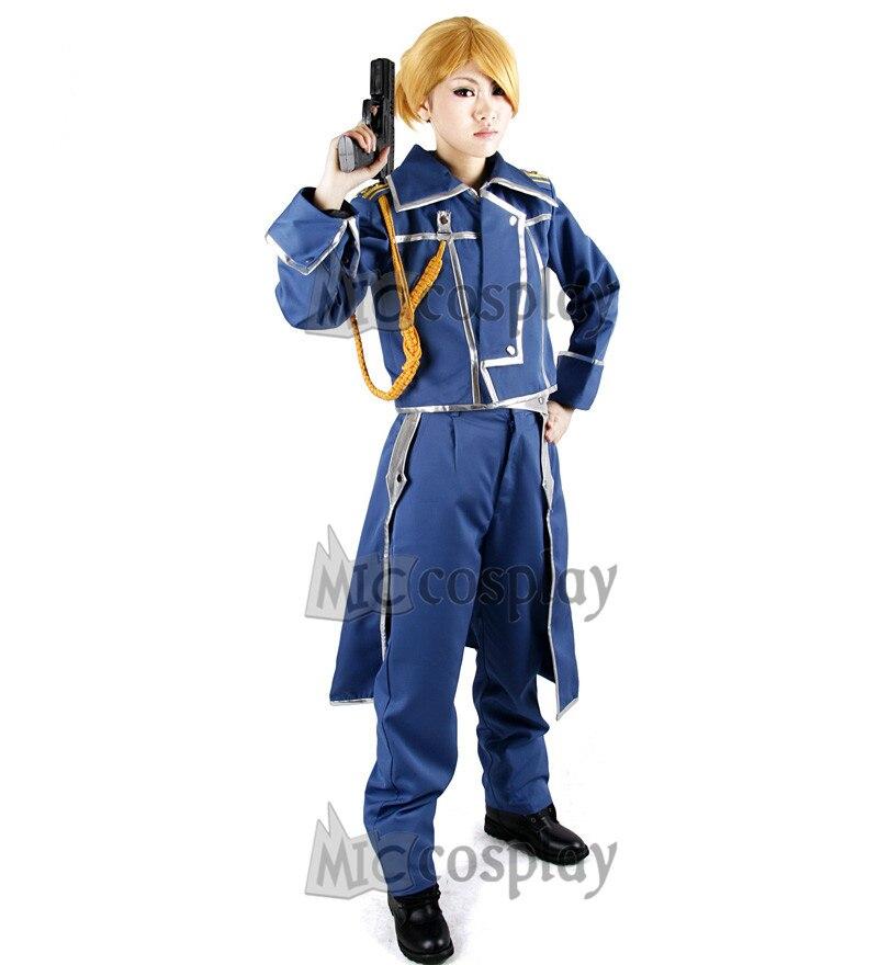 Riza hawkeye militar cosplay traje