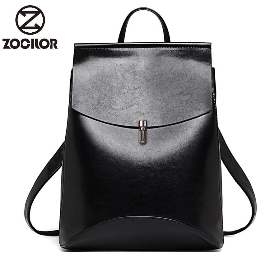 2020HOT Fashion Women Backpack High Quality Youth Leather Backpacks for Teenage Girls Female School Shoulder Bag Bagpack mochila
