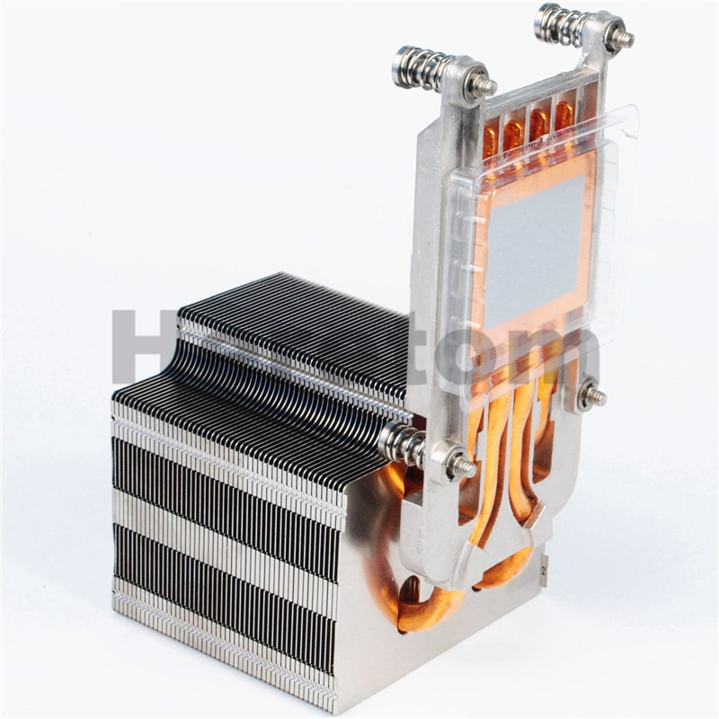 Heretom novo genuíno cpu/dissipador de calor do servidor fvt7f para poweredge r920 r930