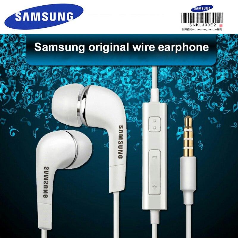 Auriculares SAMSUNG EHS64 de 3,5mm con micrófono y cable para Samsung Galaxy S8, soporte xiaomi, prueba oficial Original