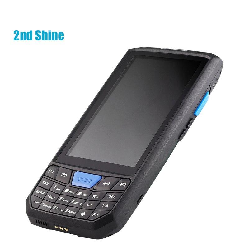 2ndshine T805 Android7.0 dispositivo de recopilación de datos portátil inalámbrico, lector RFID de largo alcance, tableta Android
