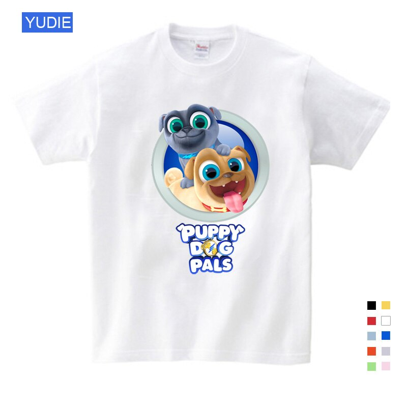 boys t shirts Children's Tshirt Summer Cartoon Funny Dog Friends T-shirts Girls Short Sleeve T Shirt for Children Summer Clothes