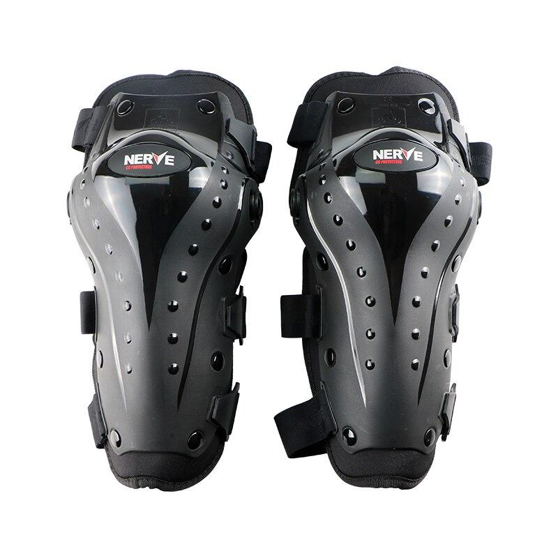 NERVO Motorcyc motorcross proteção cotovelo joelho, proteção para o joelho, cotovelo de motocicleta protetor de cotovelo joelho, 4 conjuntos CE