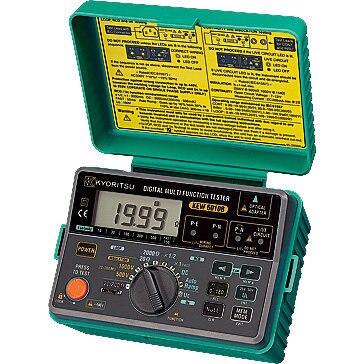 Testeur multifonction numérique KYORITSU 6010B à arrivée rapide (5 en 1) avec fonction mémoire/communication 20/200OHM