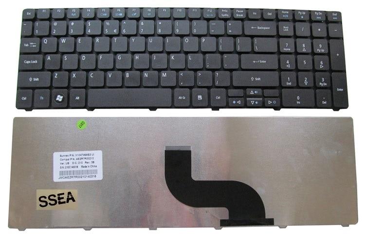 Новая черная клавиатура SSEA для ноутбука Acer Aspire 5750G 5759 7560G 7739 5950 7750