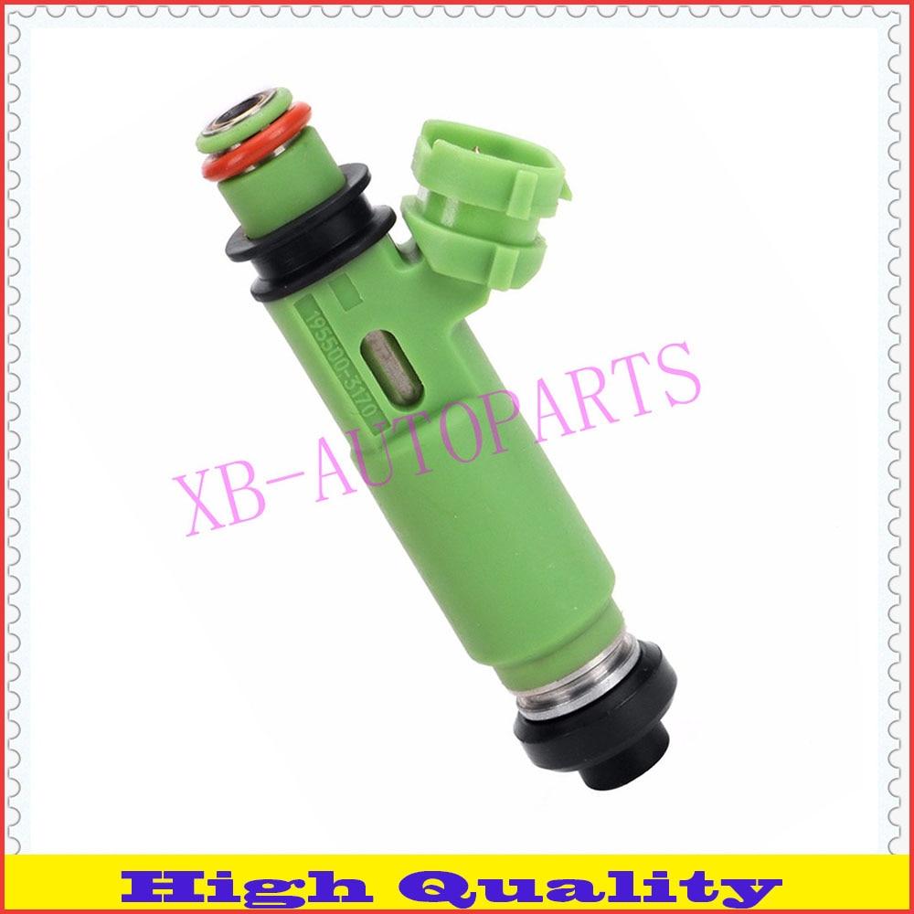 6 unids/lote inyector de combustible ORIGINAL 195500-3170 de 1955003170 MD332733 para MITSUBISHI Montero Sport 3.0L 6G72