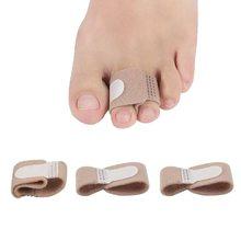 1PC orteil doigt lisseur marteau orteil Hallux Valgus correcteur pansement orteil séparateur attelle enveloppes soins des pieds fournitures