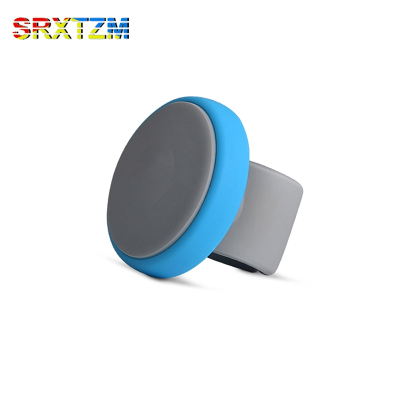 Srxtzm borracha quente estilo do carro volante botão auxiliar impulsionador universal 4 cor acessórios
